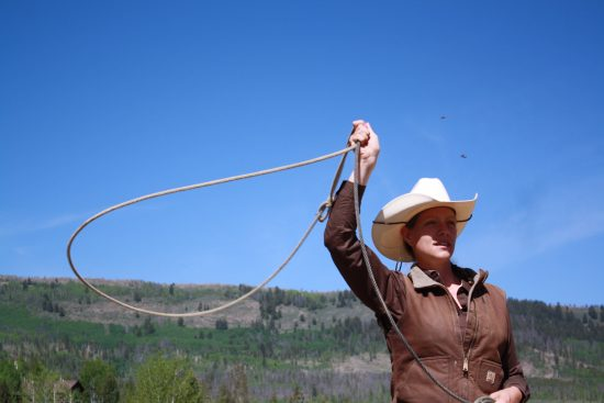 It's difficult not to enjoy learning to rope when you get to do it in such a picturesque place.