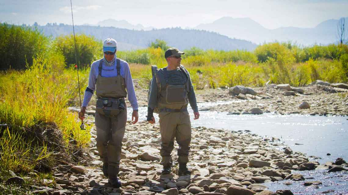 Colorado fly fishing ranch activities c lazy u dude ranch for Orvis fly fishing blog