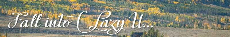 Fall into C Lazy U