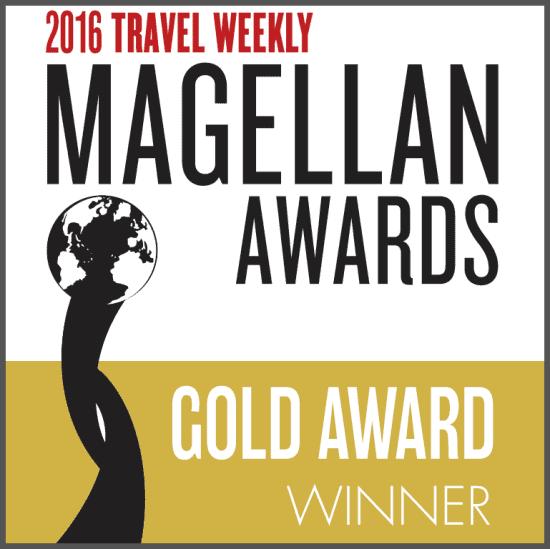 Travel Weekly Magellan Award