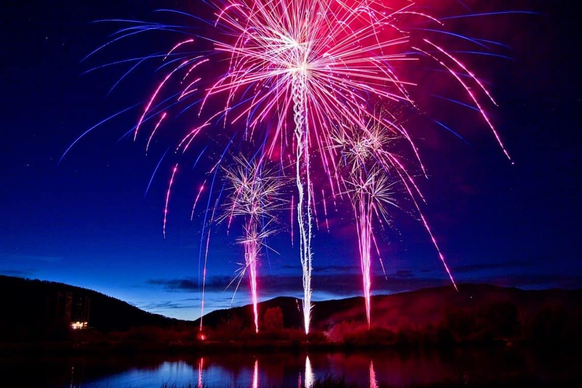 fireworks at c lazy u