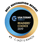 Rated a #1 Destination Resort by the USA Today 10Best Readers Choice Awards