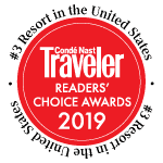 Rated #3 in Colorado by the Conde Nast Readers Choice Awards