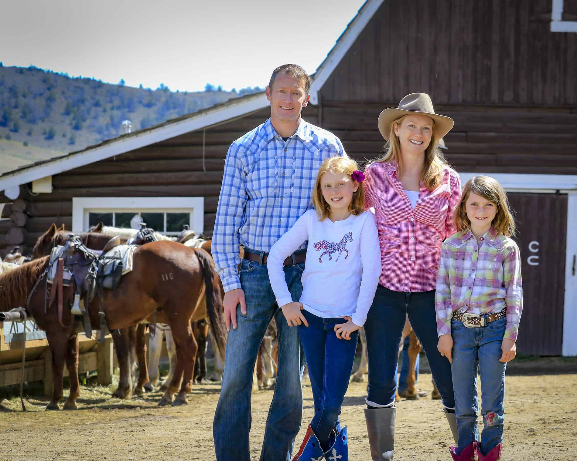 bond with family at the dude ranch