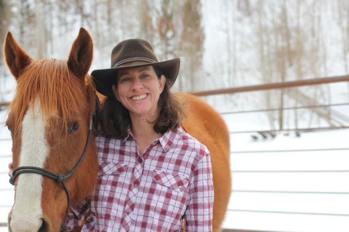 Diane Hefter with horse