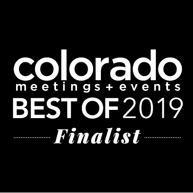 Colorado Meetings+Events 2019 Finalist for Best of Awards