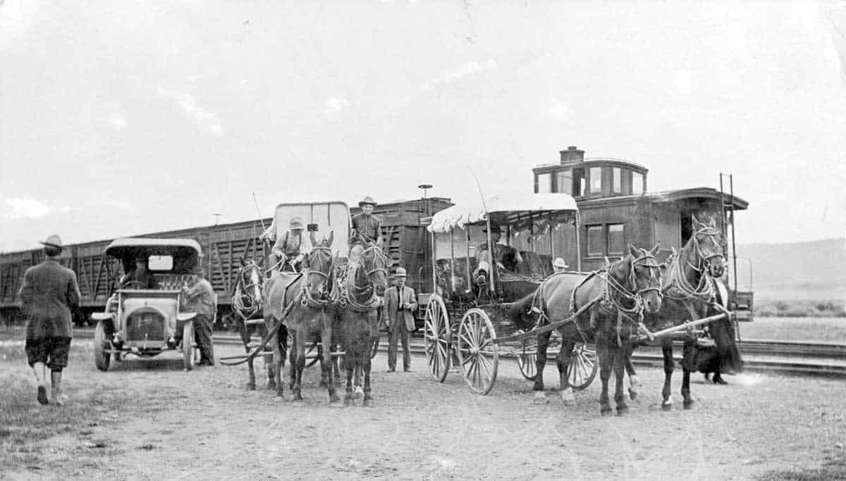 Granby train station