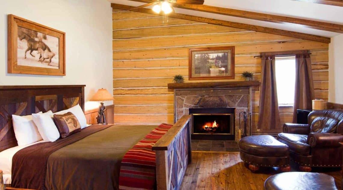 inside of a cabin