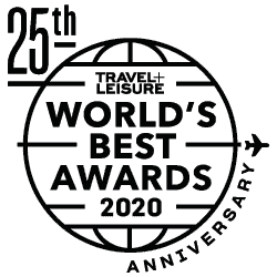 C Lazy U took 4 awards in the Travel & Leisure World's Best Awards for 2020!