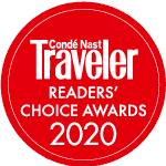 A 2020 Winner of the Conde Nast Readers Choice Awards