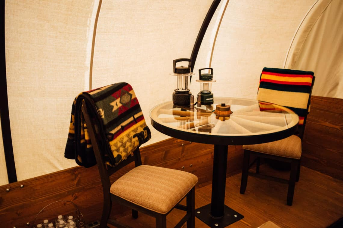 Glamping Dining Table