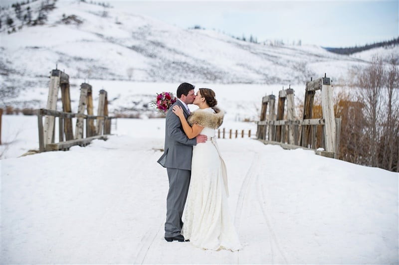 winter ranch wedding ideas