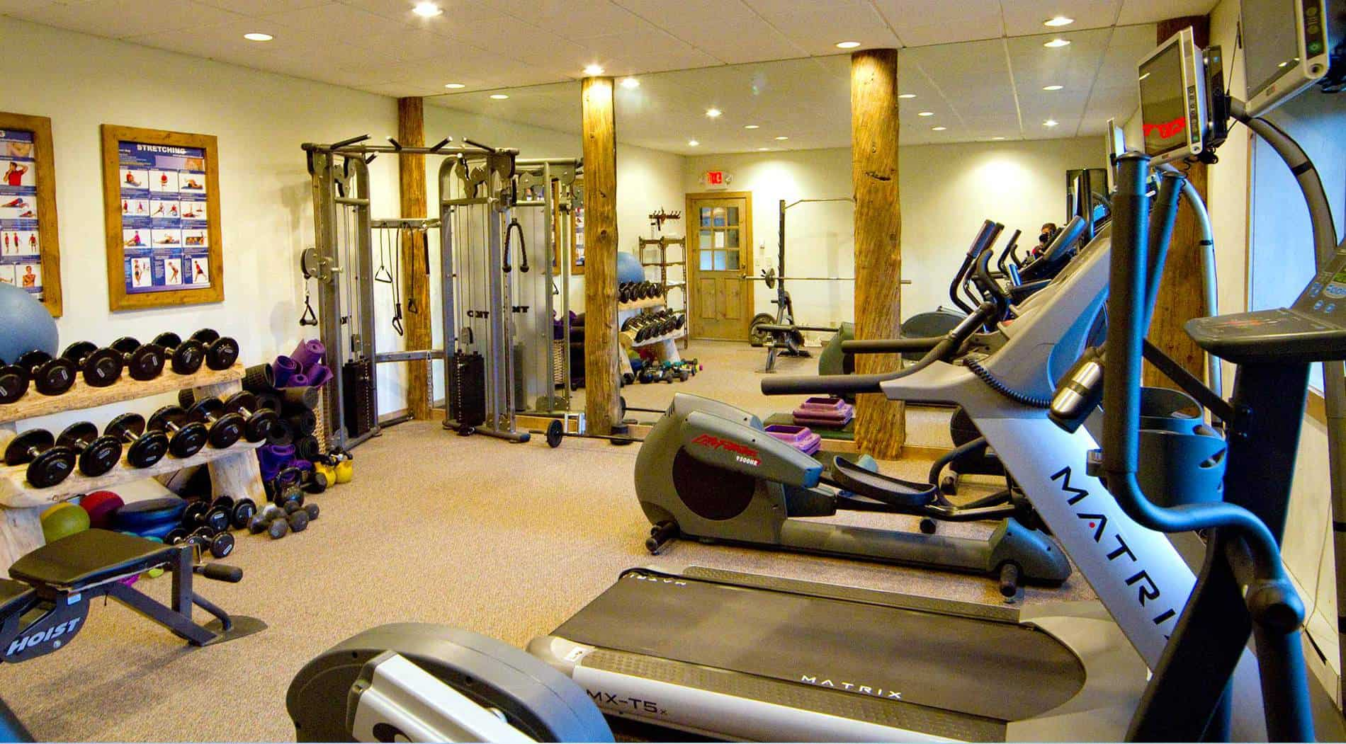 Yoga & Fitness Center | Ranch Activities | C Lazy U