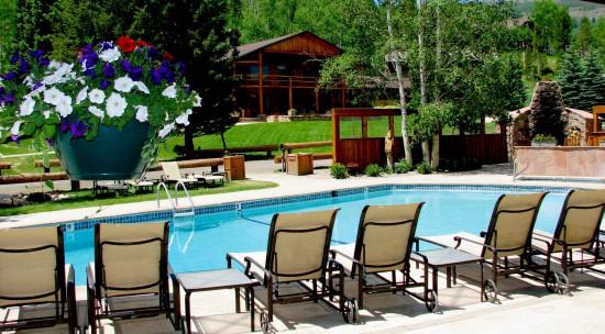 Pool at C Lazy U Ranch