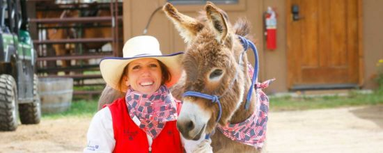 Ami Cullen, Director of Equestrian Operations at C Lazy U Ranch