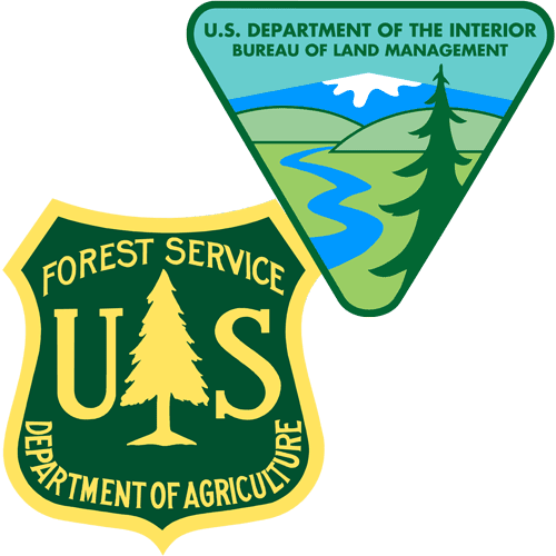 Bureau of Land Management and National Forestry Service