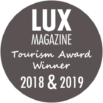 2-time winner of Lux Magazine's Tourism Awards