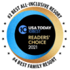 C Lazy U is rated #2 Best All-Inclusive Resort and #4 Best Family Resort by the 2021 USA Today 10Best Readers Choice Awards