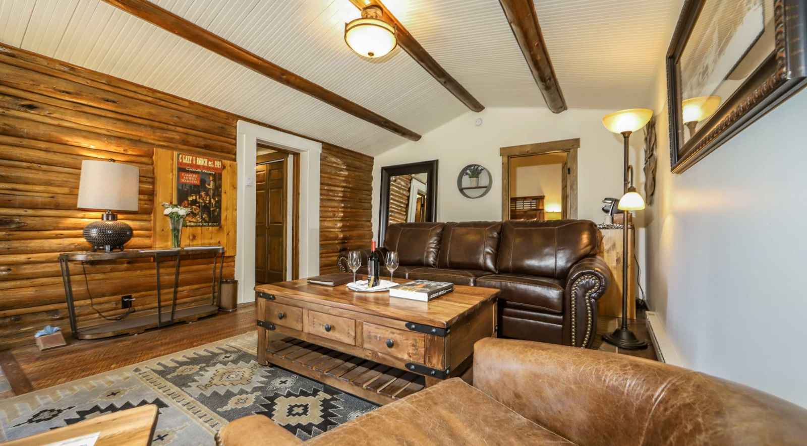 Excellent Ranch House Lodging At C Lazy U Dude Ranch Interior Design Ideas Philsoteloinfo
