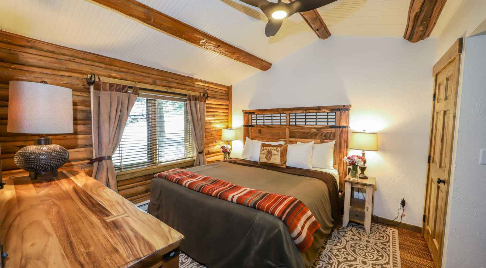 Pleasant Ranch House Lodging At C Lazy U Dude Ranch Interior Design Ideas Philsoteloinfo