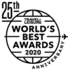 Travel+Leisure 2020 World's Best Award badge