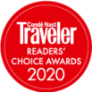 Conde Nast Traveler's Readers' Choice Award 2020