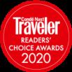Conde Nast Traveler's Readers' Choice Award 2020