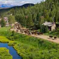Vibrant colors in the gorgeous scenery of the Ranch