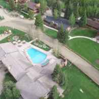 View of the Ranch from a drone