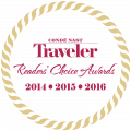 Rated Top 3 resort in Colorado and Top 10 resort in the US for 3 years running in the Conde Nast Traveler Readers' Choice Awards