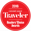 Ranked in Top 3 resort in Colorado by the Condé Nast Readers' Choice Awards