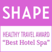 Healthy Travel Award from Shape Magazine
