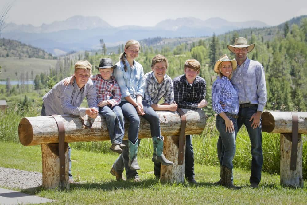 family weekend at CLazyU Ranch