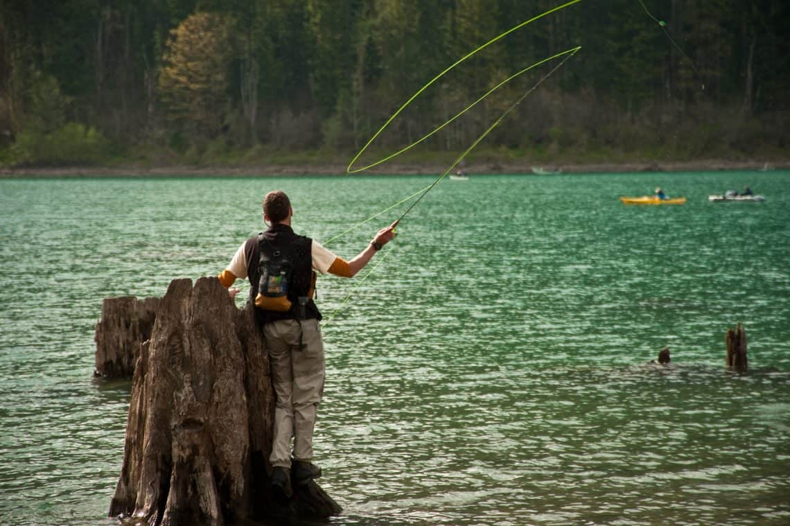 fly fishing lakes