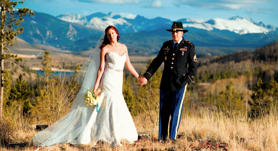 Grist-Mcvey ranch military wedding