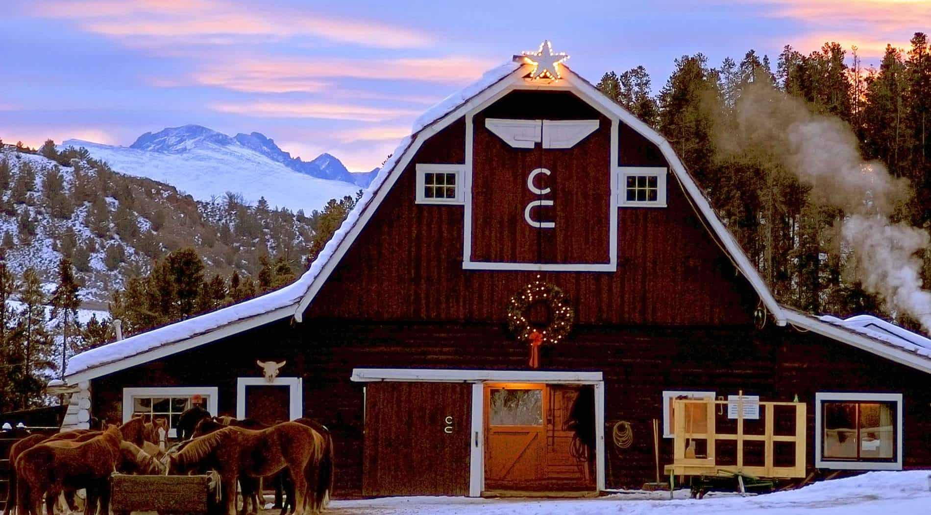 Winter Family Vacation Destination At Luxurious Guest Ranch