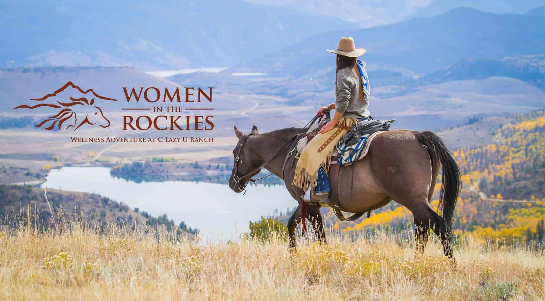 women in the rockies wellness adventure