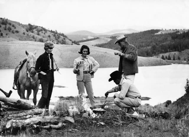 Horseback riding and spending time together outdoors has long been a ranch tradition for Colorado family vacations at the C Lazy U