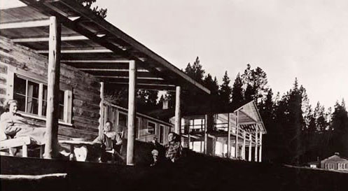 Dude ranch vacations began at the C Lazy U in the 1940's with the construction of the main lodge
