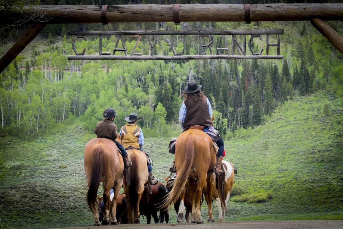 horses under the c lazy u entry