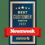 Newsweek's Best Customer Service Award for 2022