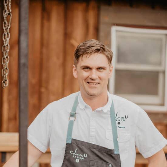 Chef Cory Untch at C Lazy U Ranch