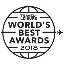 Travel and Leisure World's Best Awards 2018 logo