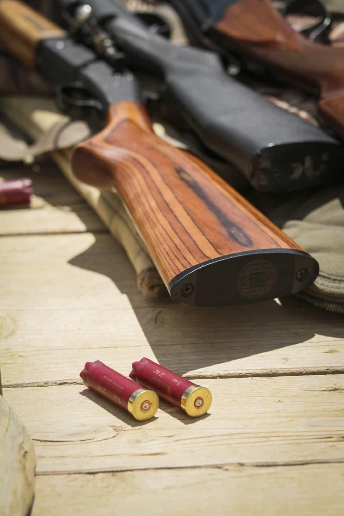 trap shooting guns