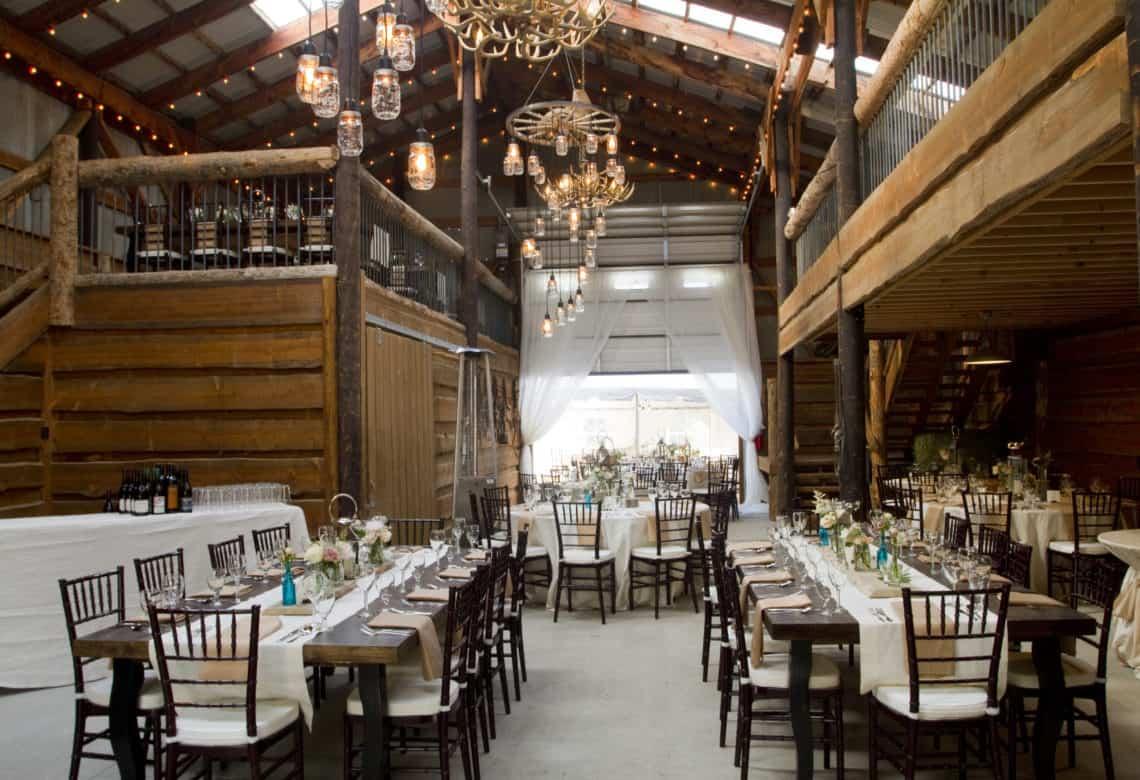 wedding inside dining